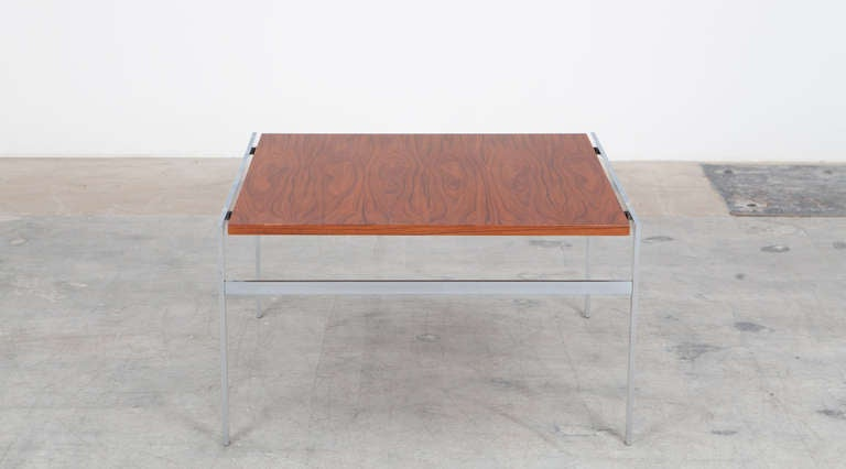 1960s Brown Wooden Pair of Fabricius and Kastholm Coffee Tables In Excellent Condition For Sale In Frankfurt, Hessen, DE