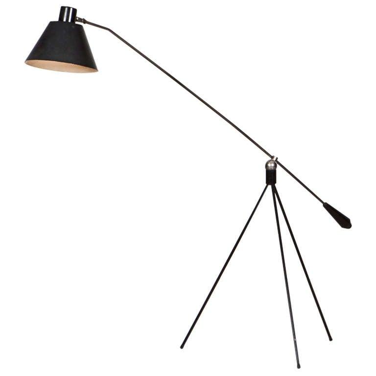 H. Fillekes Floor Lamp