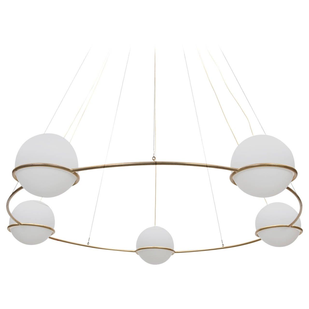 Big Ceiling Lamp in Style of Gino Sarfatti 'x'
