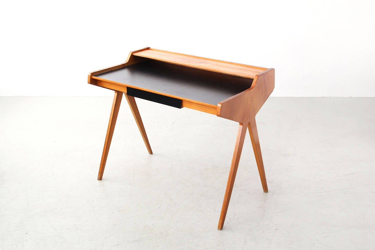 Desk by helmut magg for wk m bel at 1stdibs for Kopie eames chair