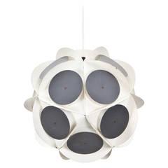 Preben Dahl Round Ceiling Lamp