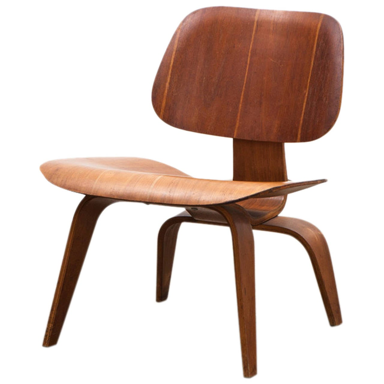 charles and ray eames lcw chair dark at 1stdibs. Black Bedroom Furniture Sets. Home Design Ideas