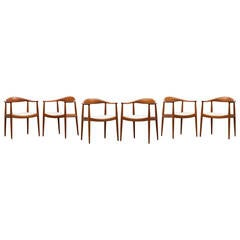 Hans Wegner Papa Bear Chair B For Sale At 1stdibs