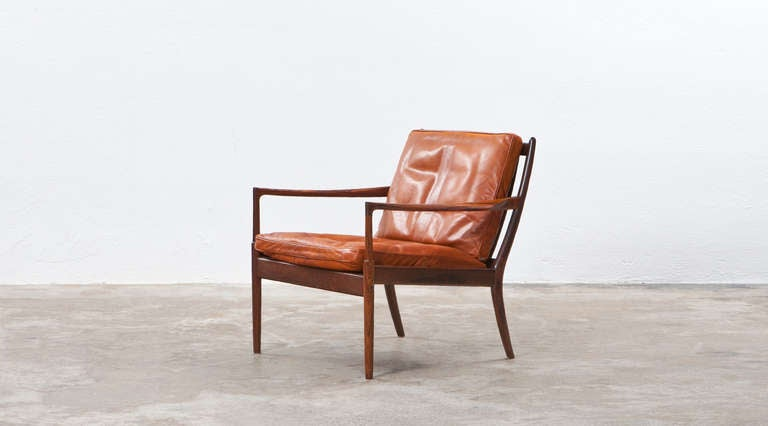 Mid-Century Modern Ib Kofod Larsen Lounge Chairs For Sale