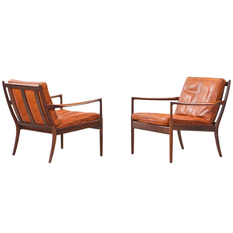 Ib Kofod Larsen Lounge Chairs For Sale