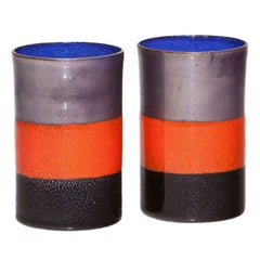 Pair of Ettore Sottsass Cups