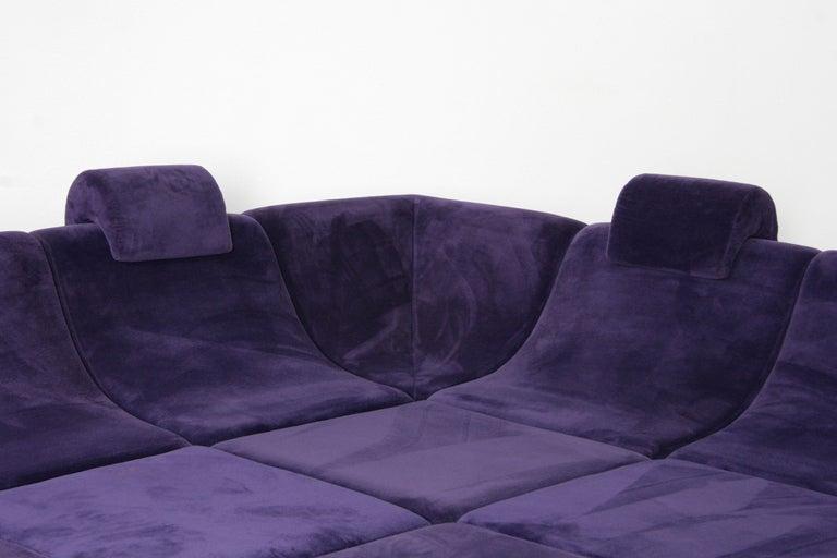 Luigi Colani Quot Pool Quot Sofa With Modular Seating Units At 1stdibs