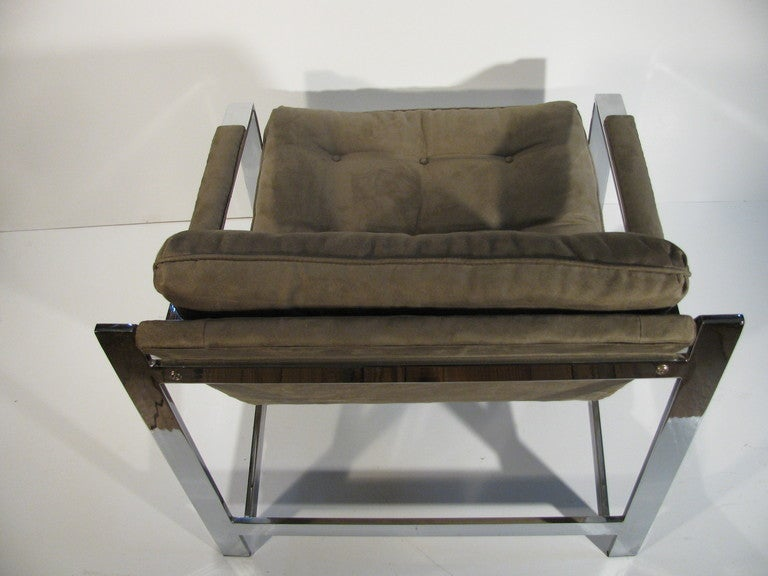 Pair of Cy Mann Mid Century Modern Lounge Armchairs For Sale 3