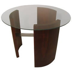 Midcentury Side or Cocktail Table, Radius by Vladimir Kagan