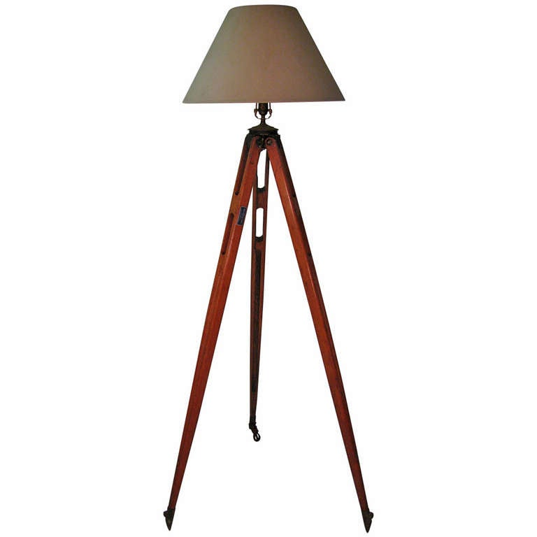 Classic Tripod Floor Lamp Brooklyn New York At 1stdibs