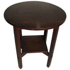 Arts & Crafts Stickley Brothers Lamp Table circa 1910