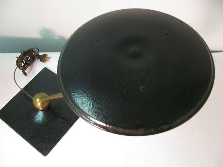 Mid Century Flying Saucer Sight Light Desk Lamp For Sale At 1stdibs
