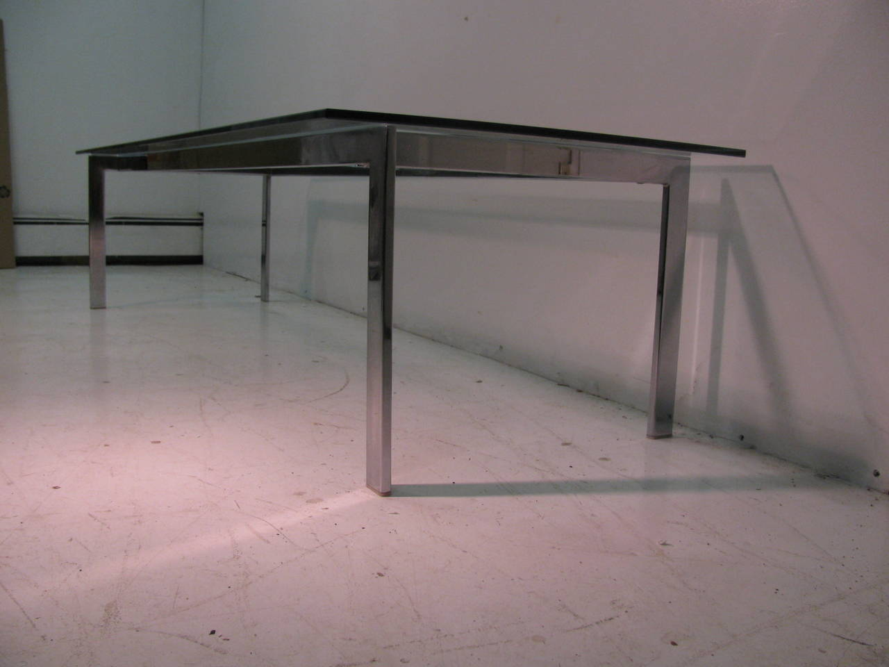 Danish Mid-Century Cocktail Table in the Manner of Poul Kjærholm For Sale