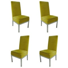 Set of Four Tallback Mid Century Modern Dining Chairs Robsjohn-Gibbings