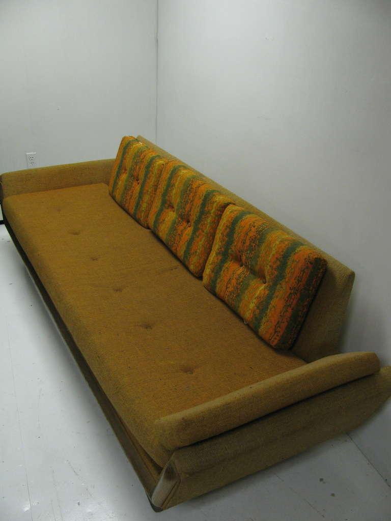 Mid-Century Modern Adrian Pearsall Mid-Century Gondola Sofa For Sale