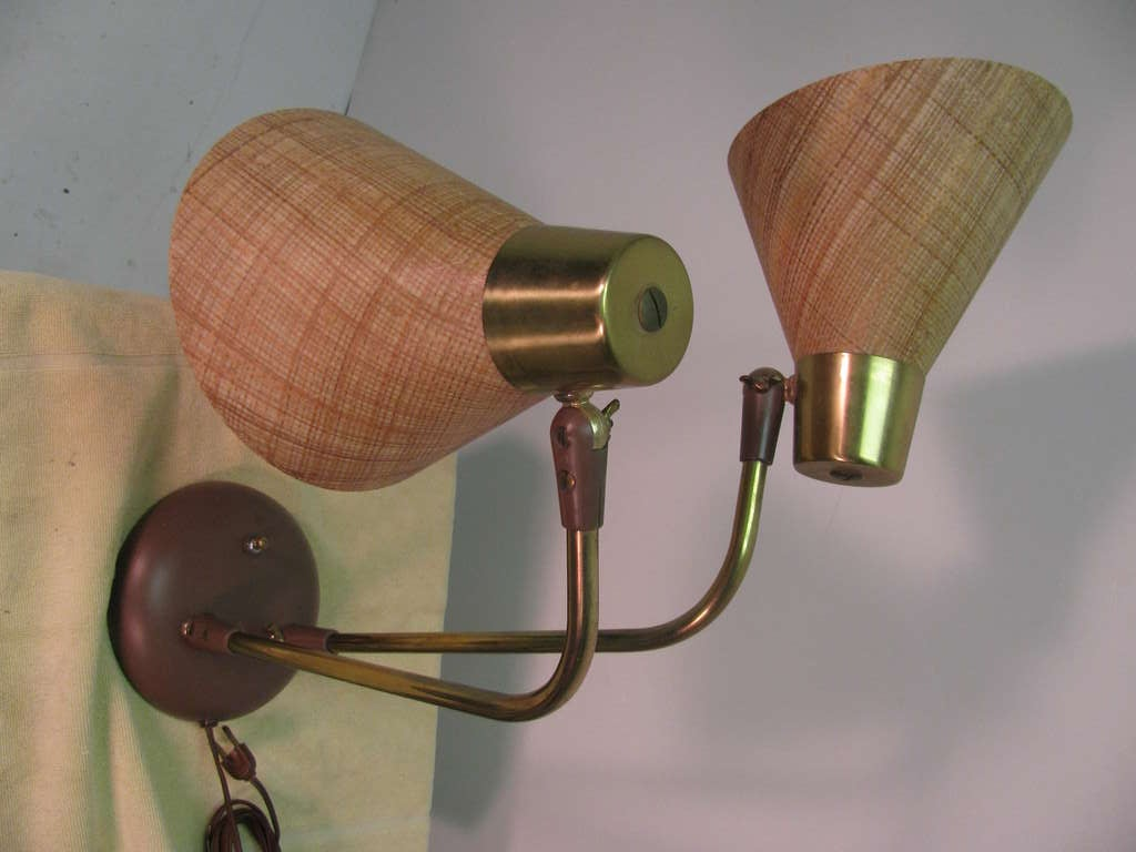 Mid-20th Century Mid-Century Modern Table or Desk Lamp by Prescolite For Sale