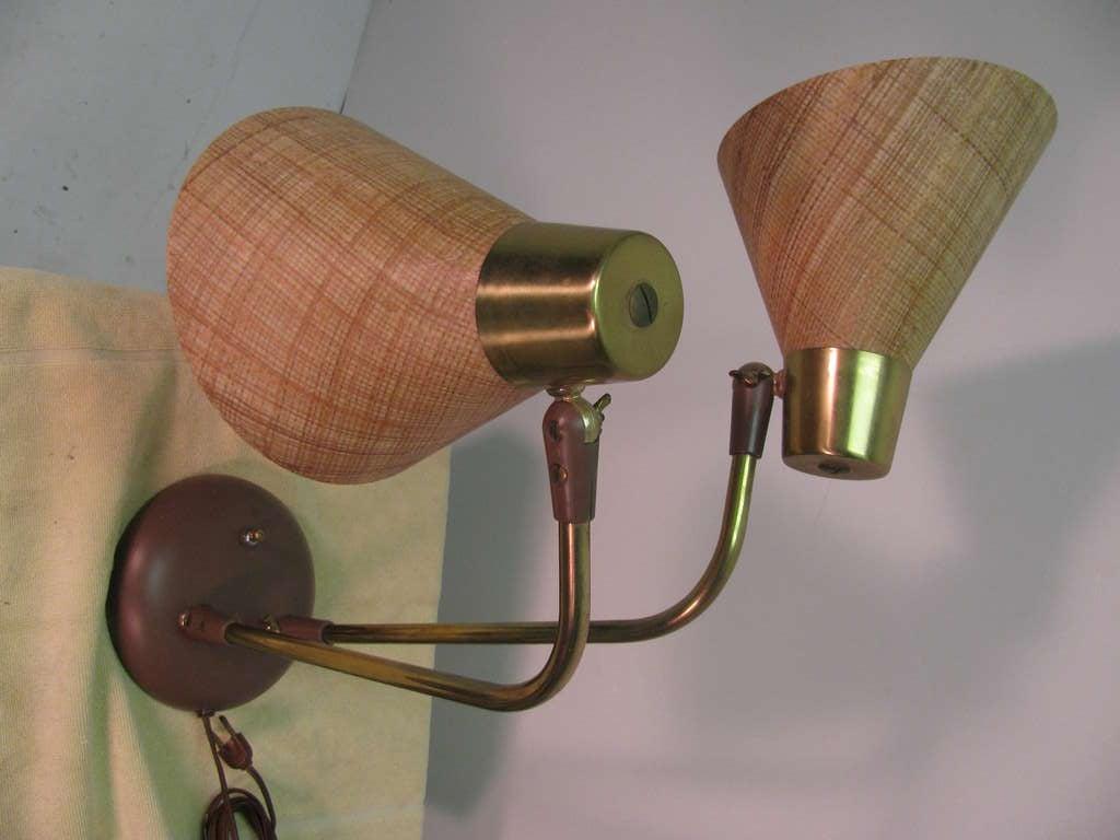 mid century modern table desk lamp by prescolite for sale at 1stdibs. Black Bedroom Furniture Sets. Home Design Ideas