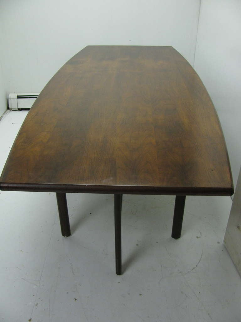 Jens Risom Mid Century Modern Dining Room Conference