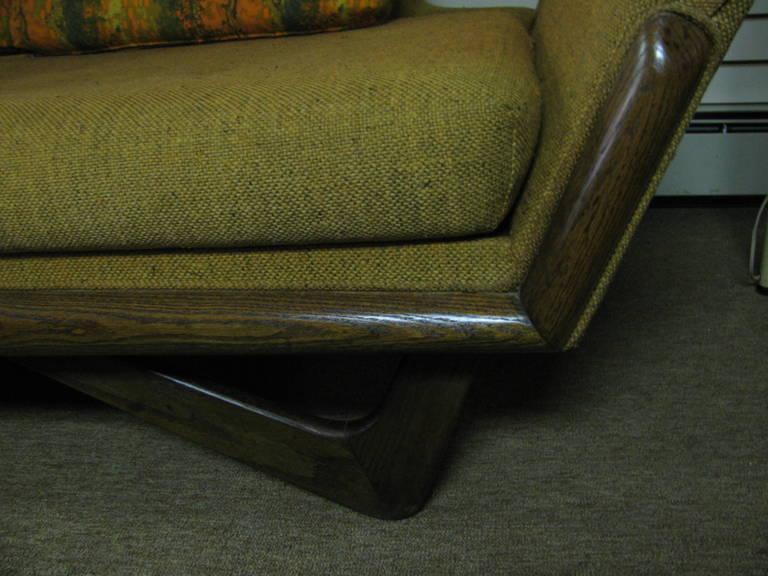 Adrian Pearsall Mid-Century Gondola Sofa For Sale 3