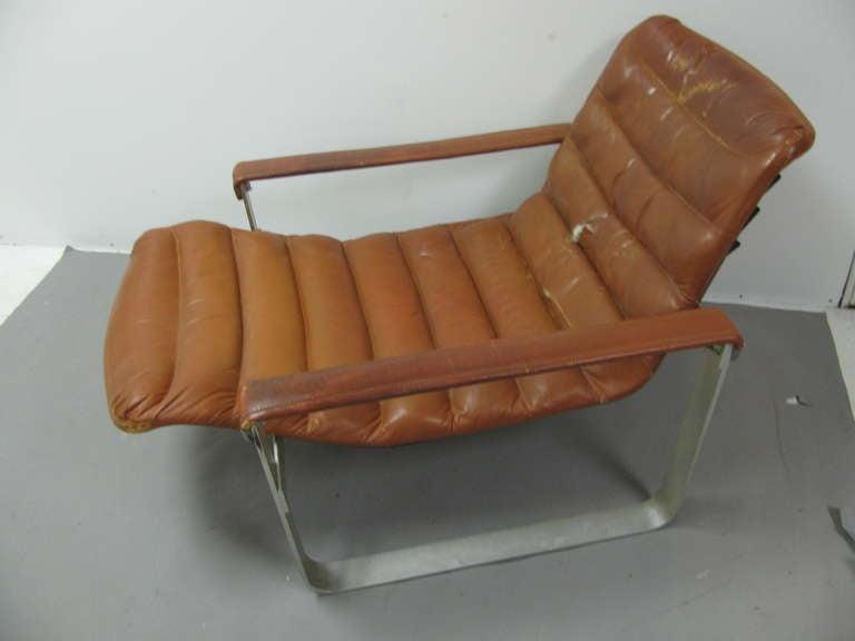 Mid Century Modern Ilmari Tapiovaara Lounge Chair with Ottoman For Sale 2