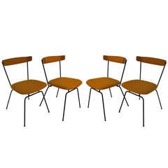 Set of Four Clifford Pascoe Mid Century Modern Dining Chairs