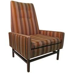 Mid-Century Modern Lounge Armchair Style of Jens Risom