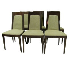 Set of Six Art Moderne Dining Chairs