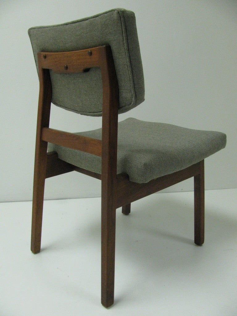 Jens risom danish mid century modern dining chairs set of six at 1stdibs - Jens risom dining chairs ...