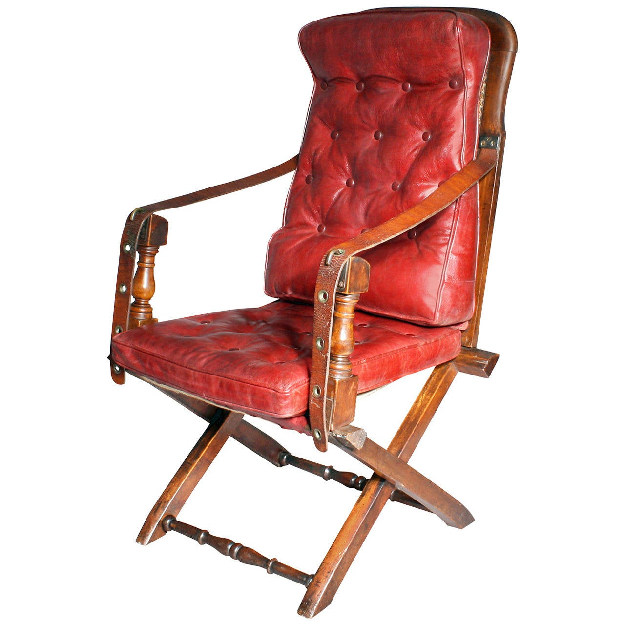 Antique Douro Campaign Chair At 1stdibs
