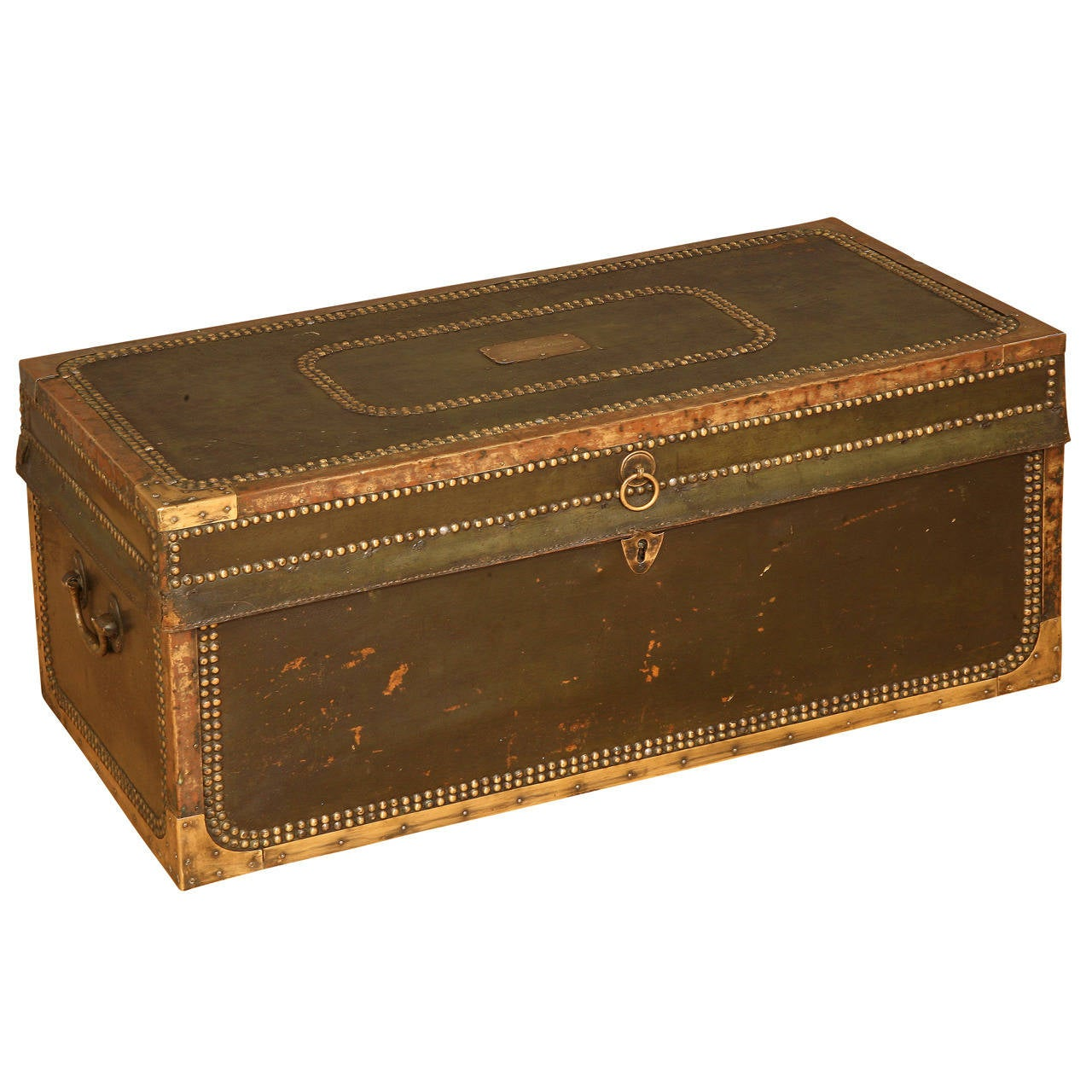 Captain thomas canney 39 s trunk at 1stdibs for L furniture more kelowna