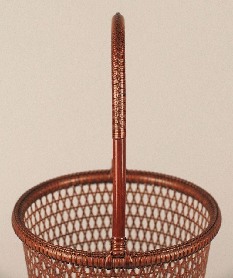 Uematsu Chikuyu Fine Weave Flower Basket image 4