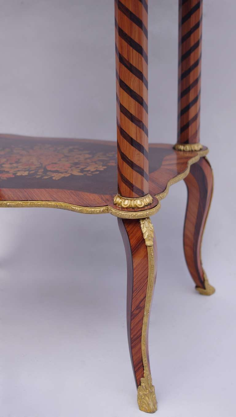 Inlaid Wood Transition Style Small Table Or Vanity Circa 1800 At 1stdibs