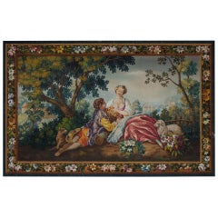 Aubusson Tapestry cartoon circa 1900