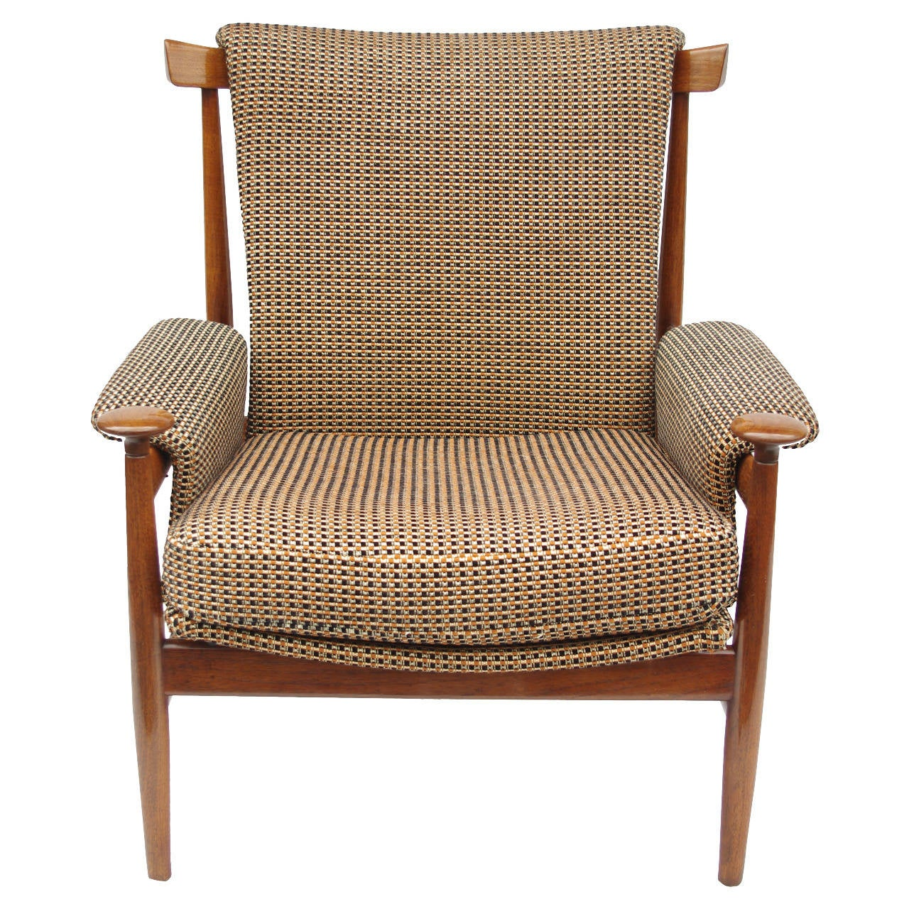 Large and comfortable scandinavian armchair by charles for Large comfy armchairs