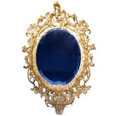 1880 Rococo Mirror in stucco