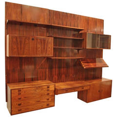 1950s Danish Customizable Bookcase