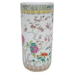 Chinese porcelain umbrella stand from 1950