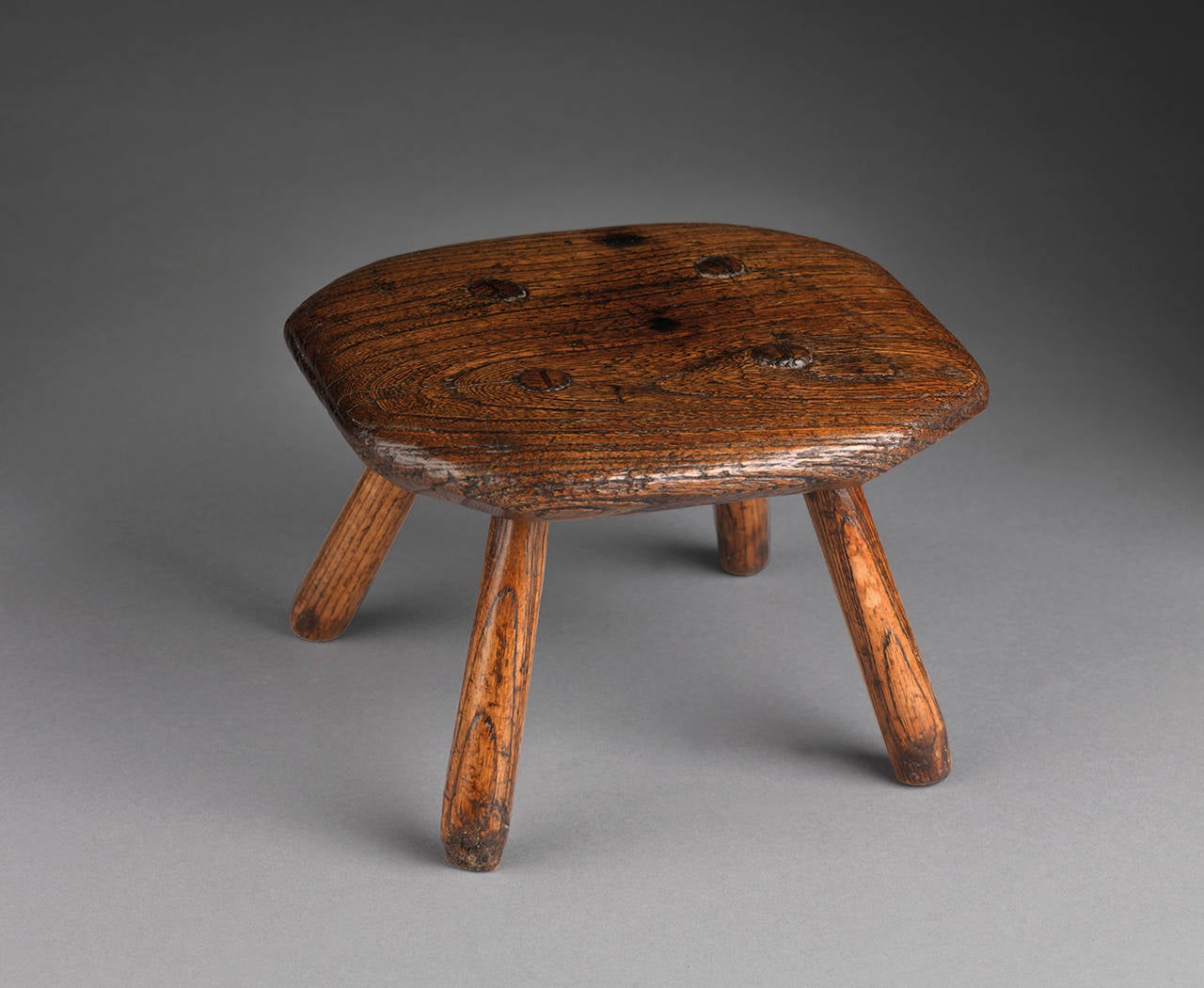 Primitive Miniature Child S Octagonal Stool At 1stdibs