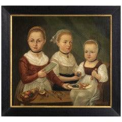 Naive School Family Portrait