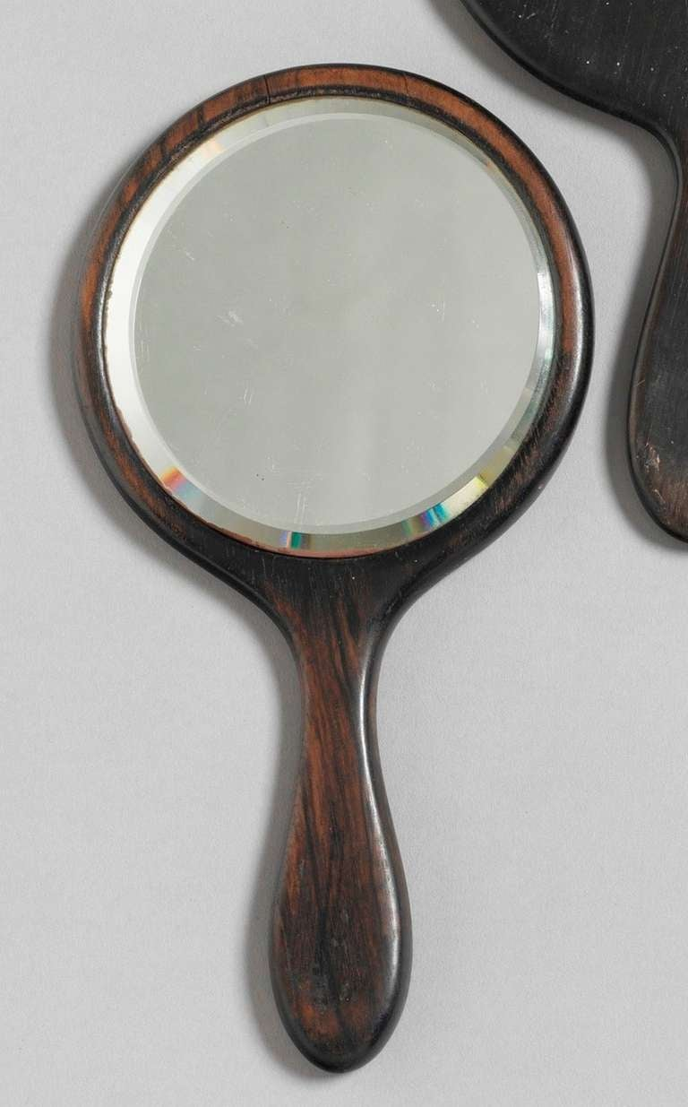 Group Of Seven Vintage Hand Held Mirrors For Sale At 1stdibs