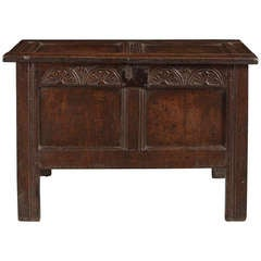 Charles II Period Panelled Chest