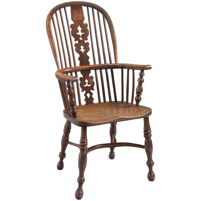 Superb Double Bow Back Windsor Armchair 1
