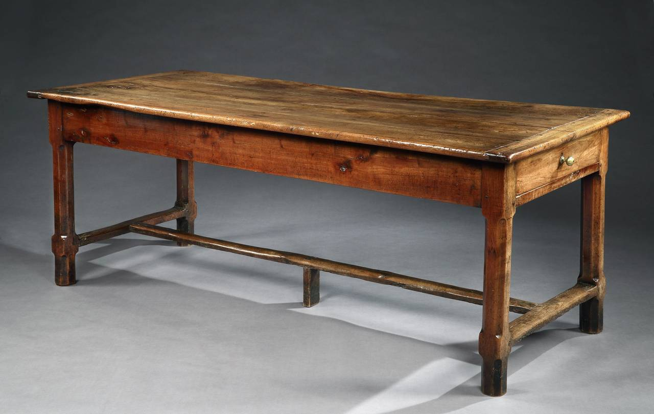 French Farmhouse Dining Table French Early 19th Century Farmhouse Dining Table At 1stdibs