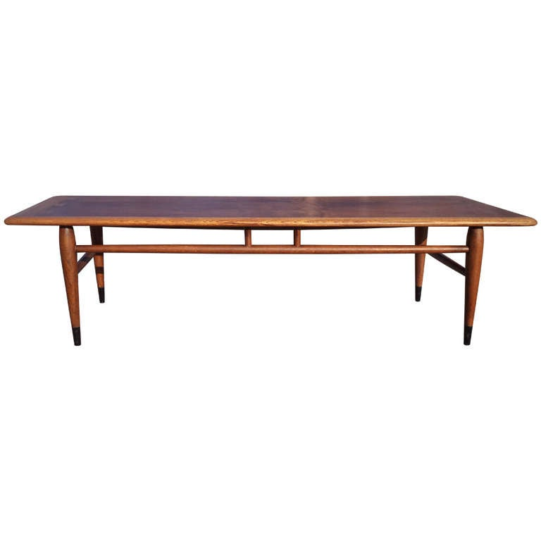 mid century modern coffee table by lane. Black Bedroom Furniture Sets. Home Design Ideas