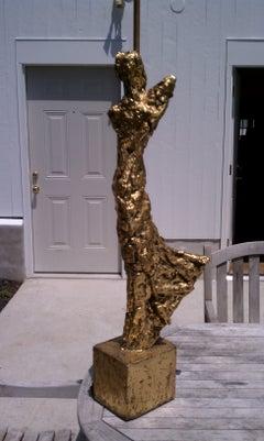 Brutalist Sculptural Lamp