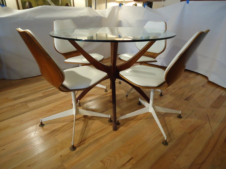 jax dining table with bentwood swivel chairs is no longer available
