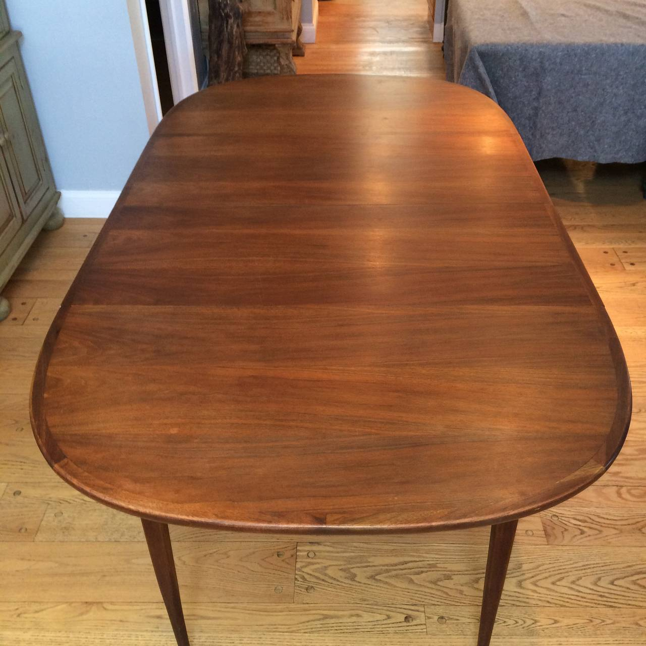 Mid-Century Modern Walnut Dining Set 5