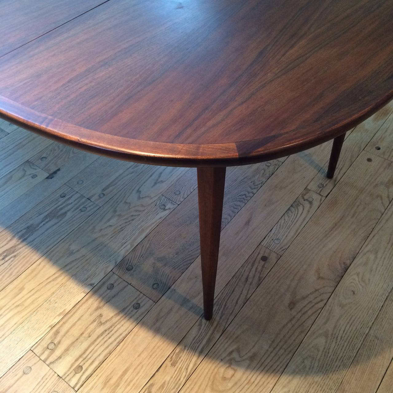 Mid-Century Modern Walnut Dining Set 6