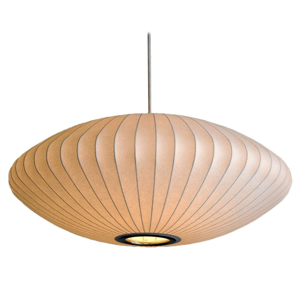 George nelson bubble saucer pendant light at 1stdibs george nelson bubble saucer pendant light 1 arubaitofo Images