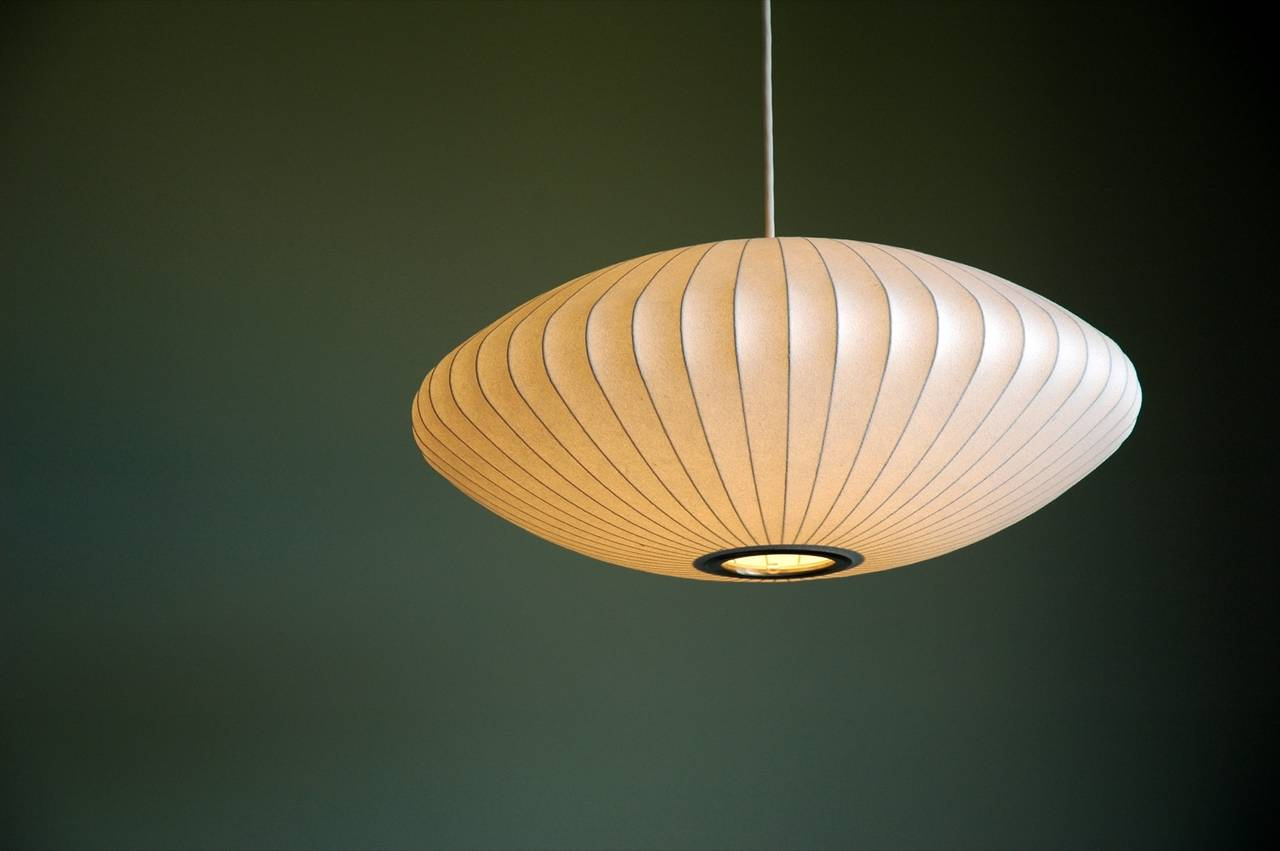 George Nelson Bubble Saucer Pendant Light 2
